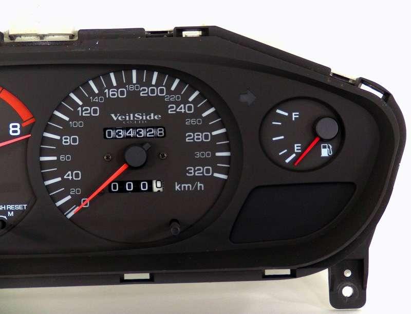 Veilside 320kmh gauge cluster Nissan Silvia S14 S14a sr20det