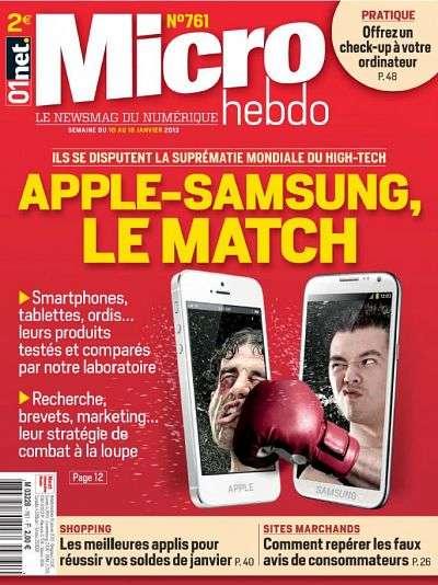 Micro Hebdo N°761 du 10 au 16 Janvier 2013