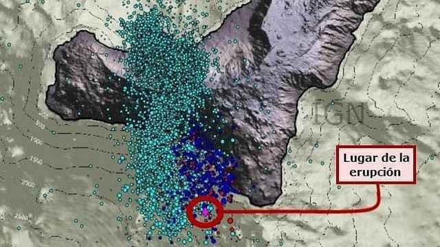 noticias erupcion submarina en El Hierro