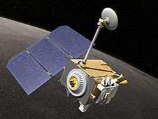 <a href='http://www.nasa.gov/images/content/682920main_LRO-concept-lg2.jpg' class='bbc_url' title='External link' rel='nofollow external'>� Larger image</a><br /> NASA&#39;s Lunar Reconnaissance Orbiter<br /> has been studying the moon since<br /> June 2009.<br /> Credit: NASA